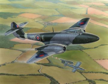 Gloster Meteor F Mk.I · MPM 72567 ·  MPM · 1:72