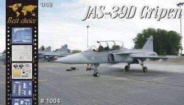 Jas-39D Gripen · MPM BC1004 ·  MPM · 1:48