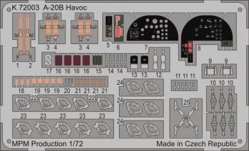 A-20B Havoc for MPM 72557 · MPM K72003 ·  MPM · 1:72