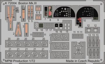 Boston Mk.II for MPM 72559 · MPM K72004 ·  MPM · 1:72
