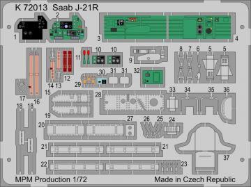 SAAB J/A-21R · MPM K72013 ·  MPM · 1:72