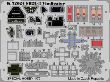 SB2U-3 Vindicator · MPM K72024 ·  MPM · 1:72