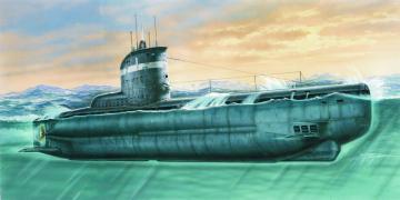 Deutsches U-Boot Typ XXIII · MPM SN72001 ·  MPM · 1:72