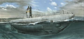 U-boot typ IIA re-issue · MPM SN72002 ·  MPM · 1:72