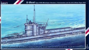 U-Boot VII D conversion set Für Revell Bausatz · MPM SN72005 ·  MPM · 1:72