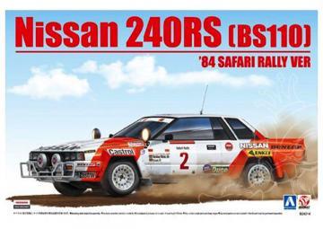 Nissan 240RS (BS110) ´84 Safari Rally VER · NB B24014 ·  Nunu-Beemax · 1:24