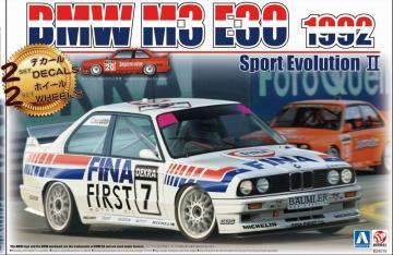BMW M3 E30 1992 Sport Evolution II · NB B24019 ·  Nunu-Beemax · 1:24