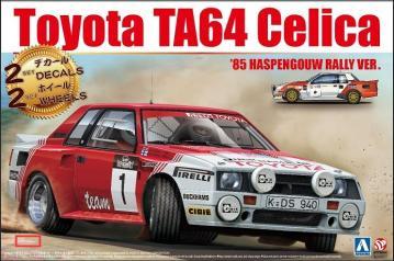 Toyota TA64 Celica ´85 Haspengouw Rally Version · NB B24021 ·  Nunu-Beemax · 1:24