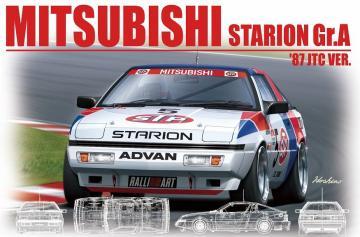 Mitsubishi Starion Gr.A ´87 JTC Version · NB B24023 ·  Nunu-Beemax · 1:24