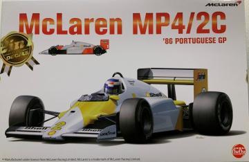McLaren MP4/2C Portuguese GP 1986 · NB PN20001 ·  Nunu-Beemax · 1:20