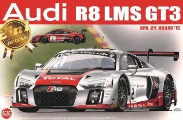 Audi R8 LMS GT3 SPA 24 Hours´15 · NB PN24004 ·  Nunu-Beemax · 1:24