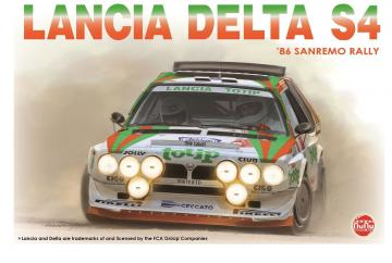 Lancia Delta S4 Sanremo Rally 86 · NB PN24005 ·  Nunu-Beemax · 1:24