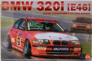 BMW 320i (E46) Super Production DTCC 2001 Winner · NB PN24007 ·  Nunu-Beemax · 1:24
