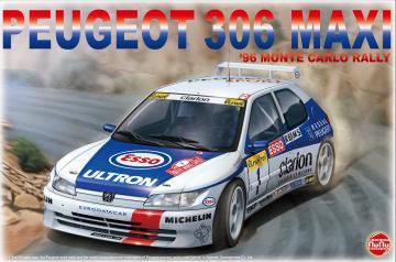 Peugeot 306 MAXI 96 Monte Carlo Rally · NB PN24009 ·  Nunu-Beemax · 1:24