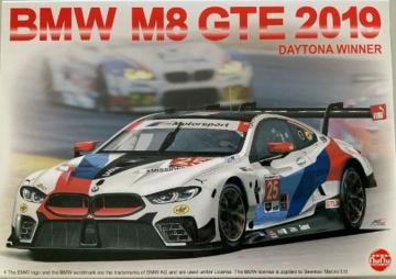 BMW M8 GTE 2019 Daytona 24h winner · NB PN24010 ·  Nunu-Beemax · 1:24