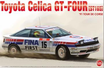 Toyota Celica GT-Four (ST165) ´91 Tour de Corse Fina · NB PN24015 ·  Nunu-Beemax · 1:24