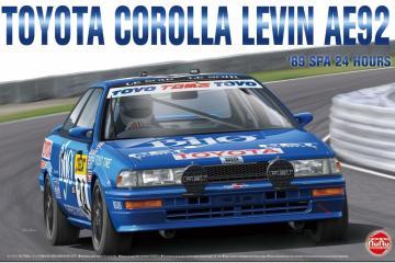 Toyota Corolla Levin AE92 ´89 SPA 24 Hours · NB PN24016 ·  Nunu-Beemax · 1:24