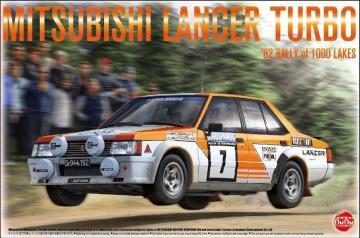 Mitsubishi Lancer Turbo - 82 Rally of 1000 Lakes · NB PN24018 ·  Nunu-Beemax · 1:24