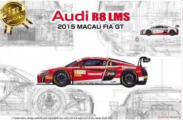 Audi R8 LMS Macau FIA GT 2015 · NB PN24024 ·  Nunu-Beemax · 1:24
