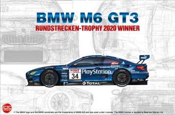 BMW M6 GT3 Rundstrecken-Trophy 2020 Winner PlayStation · NB PN24027 ·  Nunu-Beemax · 1:24