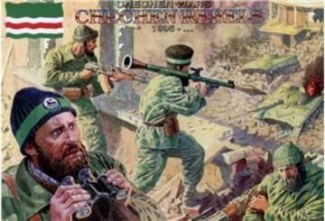 Chechen rebels, 1995 · ORI 72002 ·  Orion · 1:72