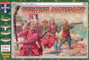 Turkish janissary, 17. century · ORI 72010 ·  Orion · 1:72