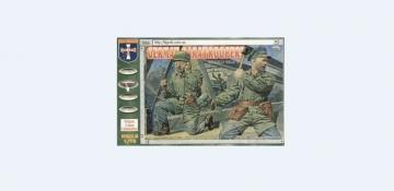 WWII German paratroopers · ORI 72018 ·  Orion · 1:72