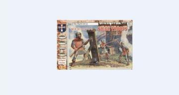 Medival siege crew and handgunners · ORI 72019 ·  Orion · 1:72