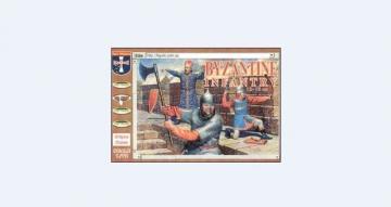 Byzantine Infantry, 12.-15. century · ORI 72027 ·  Orion · 1:72