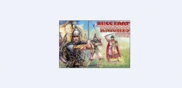 Russ foot knights, 11.-13. century · ORI 72031 ·  Orion · 1:72