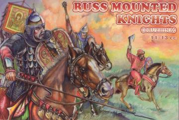 Russ Mounted Knights, 11.-13. century · ORI 72033 ·  Orion · 1:72
