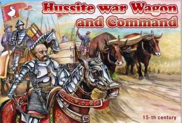 Hussite War Wagon and Command · ORI 72039 ·  Orion · 1:72