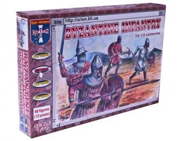 Byzantine infantry X-XIII centuries · ORI 72044 ·  Orion · 1:72