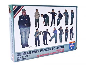 WWII German panzer soldiers, set 1 · ORI 72045 ·  Orion · 1:72