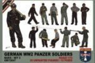 WWII German panzer soldiers, set 2 · ORI 72047 ·  Orion · 1:72