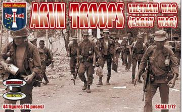 Vietnam War ARVN troops (early war) · ORI 72051 ·  Orion · 1:72