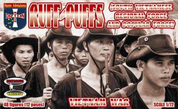 Ruff-Puffs (South Vietnamese Regional Force and Popular Force) · ORI 72053 ·  Orion · 1:72