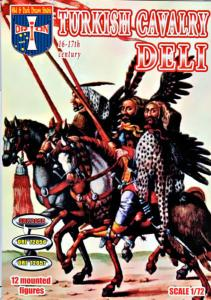 Turkish Cavalry (Deli), 16-17 centuries · ORI 72055 ·  Orion · 1:72
