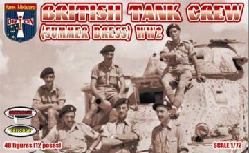 WWII British Tank Crew (Summer Dress) · ORI 72057 ·  Orion · 1:72