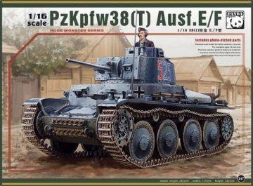 Panzer 38T · PAN 16001 ·  PandaHobby · 1:16
