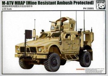 M-ATV MRAP · PAN 35001 ·  PandaHobby · 1:35