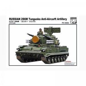 2S6MAnti aircraft Artillery · PAN 35002 ·  PandaHobby · 1:35