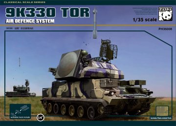 9K330 Tor Air Defence System · PAN 35008 ·  PandaHobby · 1:35