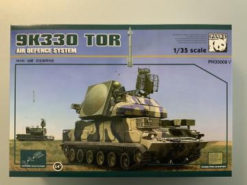 9K330 Tor Air Defence System w/ track link · PAN 35008V ·  PandaHobby · 1:35
