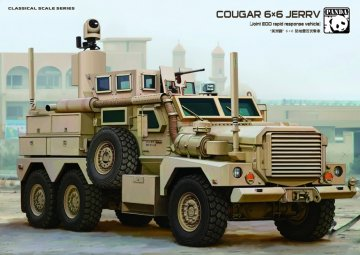 Cougar 6x6 MRAP · PAN 35010 ·  PandaHobby · 1:35