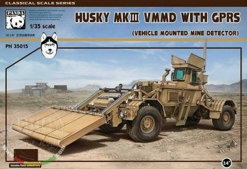 Husky MKII VMMD with GPRS (Vehickle Mounted Mine detector) · PAN 35015 ·  PandaHobby · 1:35