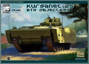 BTR Object 693 Kurganet-25 · PAN 35024 ·  PandaHobby · 1:35