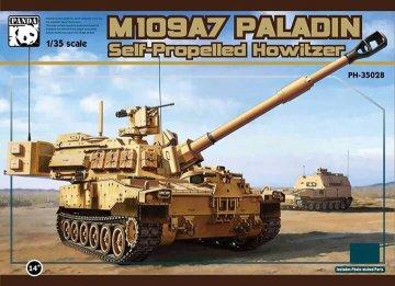 M-109A7 Paladin - Self Propelld Howitzer · PAN 35028 ·  PandaHobby · 1:35