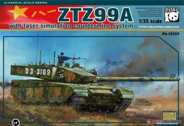ZTZ-99A MBT · PAN 35029 ·  PandaHobby · 1:35