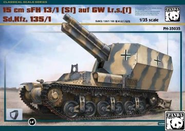 15cm Slg. s.F.H.13 Krupp L17 · PAN 35035 ·  PandaHobby · 1:35